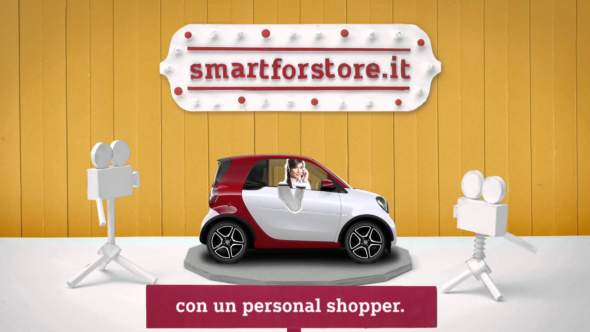 Experience live show con personal for Garage smart suresnes