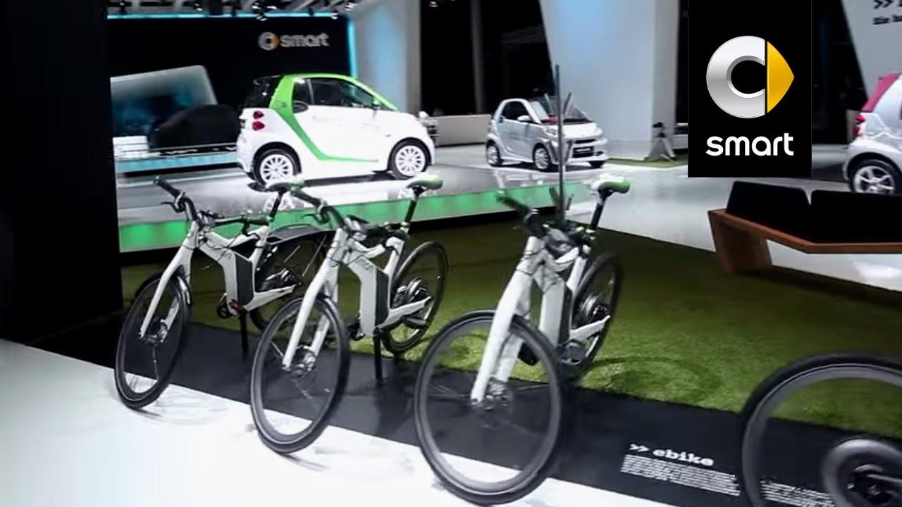smart ebike international motor show frankfurt 2011 smart longchamps garage smart 92. Black Bedroom Furniture Sets. Home Design Ideas