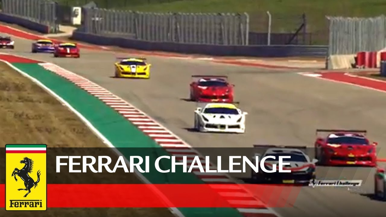 Ferrari-Challenge-North-America-COTA-2019-Coppa-Shell-Race-1